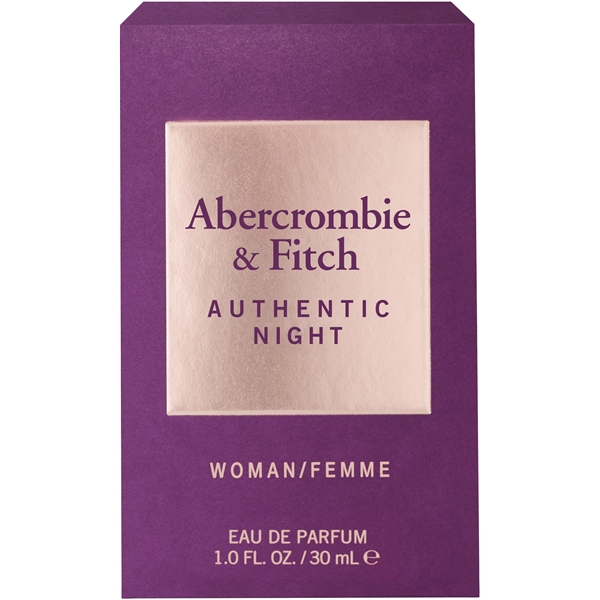 Authentic Night Women - Eau de toilette (Billede 2 af 2)
