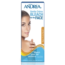 1 set - Andrea Gentle Creme Bleach Face