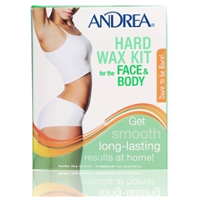 1 set - Andrea Hard Wax Kit Body
