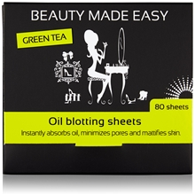 Green Tea Oil Blotting Sheets