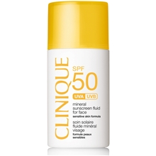 Clinique SPF 50 Mineral Sunscreen For Face