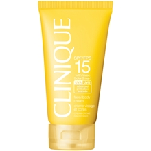 Clinique SPF 15 Face/Body Cream