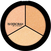 Deborah Strobing Trio Highlighter Palette