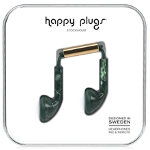 Green Marble - Happy Plugs Earbud