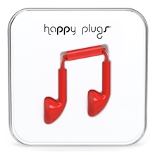Red - Happy Plugs Earbud
