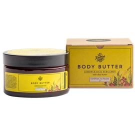 Body Butter Lemongrass & Bergamot
