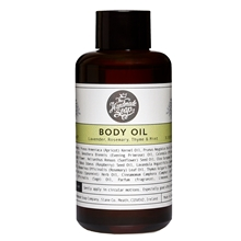Body Oil Lavender, Rosemary, Thyme & Mint