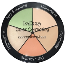 IsaDora Color Correcting Concealer Wheel