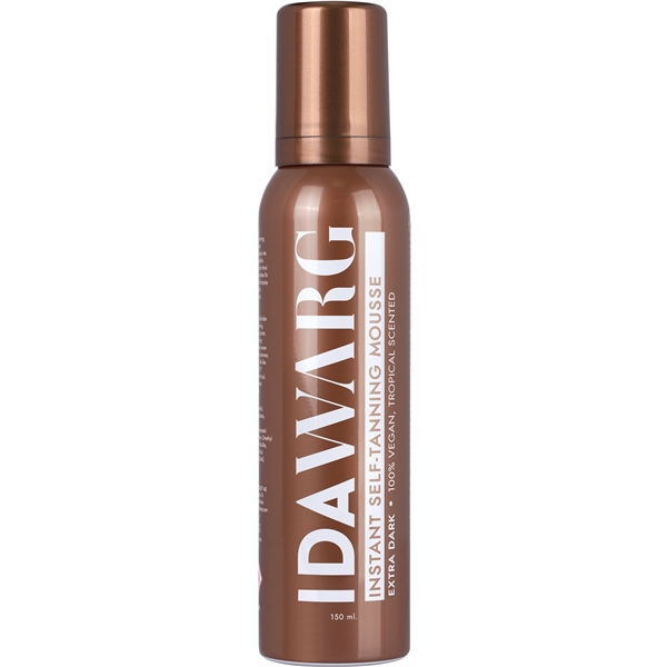 IDA WARG Instant Self Tanning Mousse Extra Dark