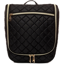 Voyage Tilde Black Quilted Toiletry Bag