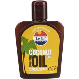 Le Tan Coconut Oil SPF 30+