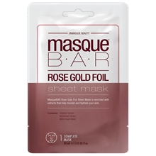 Rose Gold Sheet Mask