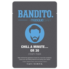 BANDITO Chill A Minute... Or 30 - Cream Mask