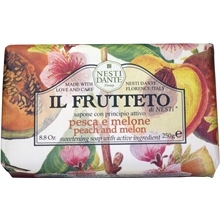 Il Frutteto Peach & Melon Soap