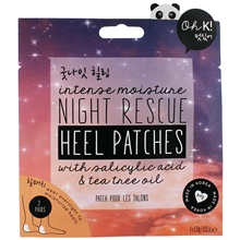 4 st/pakke - Oh K! Night Rescue Heel Patches