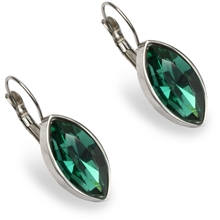 PEARLS FOR GIRLS Mary Earring Green