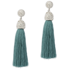 PEARLS FOR GIRLS Samira Earring Petrol