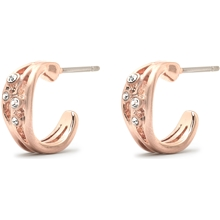 Nadia Earrings Rose Gold