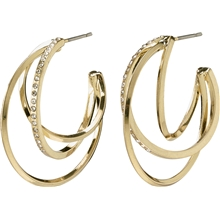 13204-2013 Radiance Earrings Gold Plated