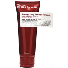 Recipe For Men Enerigizing Bronze Cream