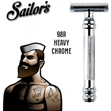 Safety Razor Heavy Chrome 98R