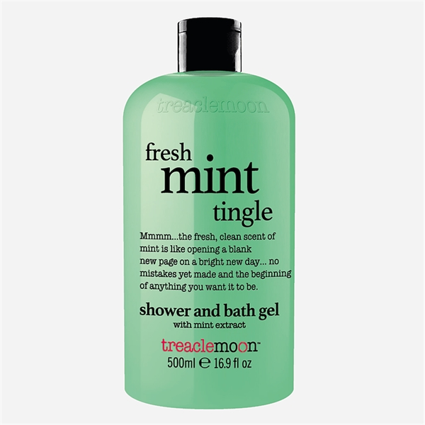 Fresh Mint Tingle Bath & Shower Gel (Billede 1 af 2)
