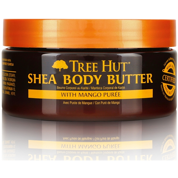 Tree Hut Shea Body Butter Tropical Mango (Billede 1 af 2)