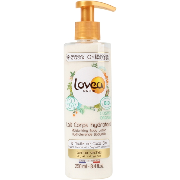 Coconut Oil Moisturizing Body Lotion - Dry Skin