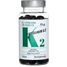 BioSalma K2-vitamin high concentrate 90µg