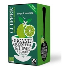 Clipper Green Tea Lime and Ginger