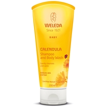 Calendula Shampo & Body Wash 200 ml