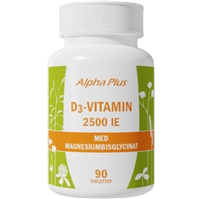 D3-vitamin 2500IE 90 tabletter