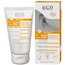 eco cosmetics solkräm spf50 75 ml