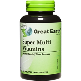 Super Multi Vitamins regular strength