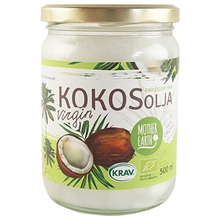 Kokosolja Virgin RAW KRAV 500 ml