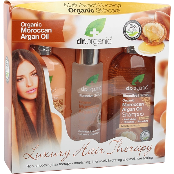Moroccan Argan Oil - Luxury Hair Therapy