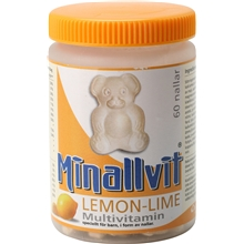 60 tabletter - Lemon Lime - Minallvit