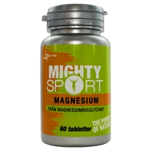 Mighty Sport Magnesium 60 tabletter