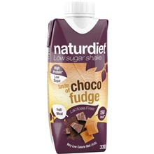 330 ml - Choco-fudge - Naturdiet Free Shake No Lactose