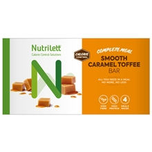 4 st/pakke - Caramel - Nutrilett Smart Meal Bar 4-pack