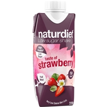 330 ml - Strawberry - Naturdiet Shake