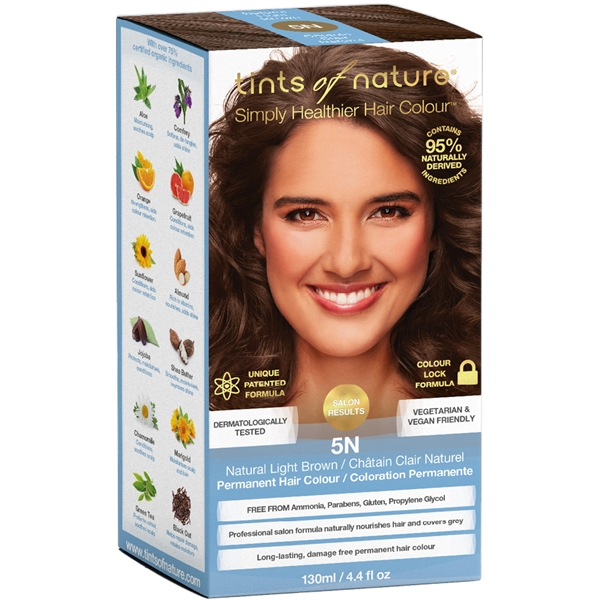 Tints of Nature Light Brown 5N