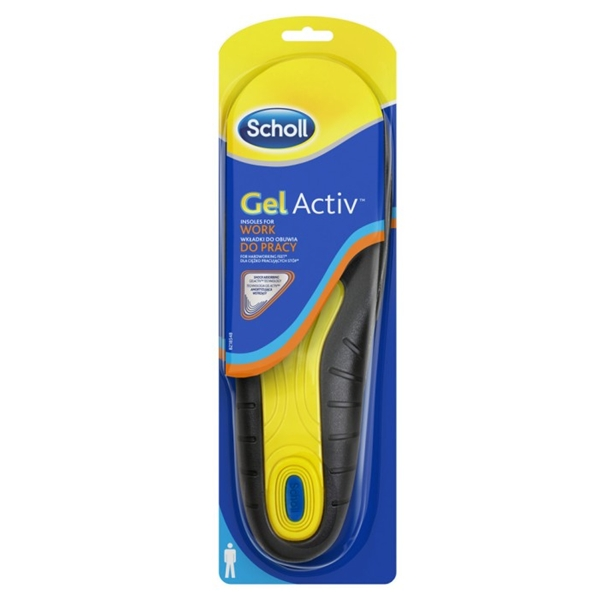 Scholl Gel Activ Work Men