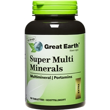 90 tabletter - Super Multi-Minerals