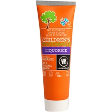 Childrens toothpaste liquorice