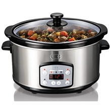 C3 Slowcooker 3,5 liter med Digitalt Display