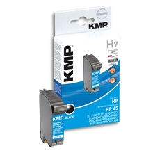 KMP H7 - HP 45 Black 0927.4451