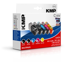 KMP - Savings Pack - BCI-6BK / BCI-6C / BCI-6M / BCI-6Y / BCI-6PC / BCI-6PM 0958.0005