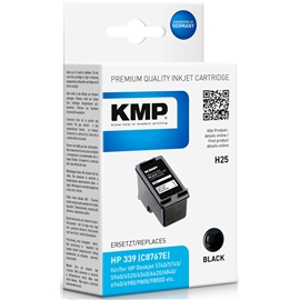 KMP H25 - HP 339 Black