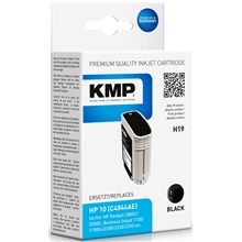 KMP H19 - HP 10 Black 1029.4441